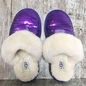 UGG Sequin Sparkle Cozy Slippers Dazzle